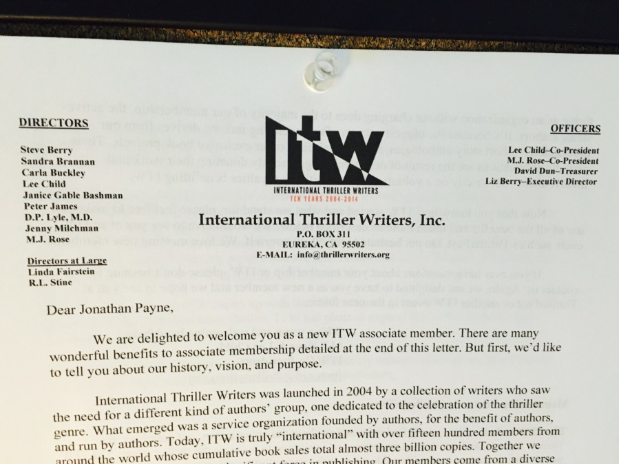 ITW letter